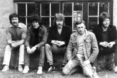 1984 - Tommy Moore, Dave Murphy, Pat Farrell, Don Baker and Davey White