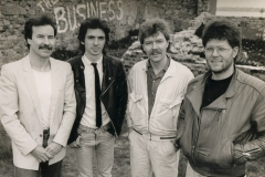 1985 - Tommy Moore, Gerry Hendricks, Pat Farrell and Davey White