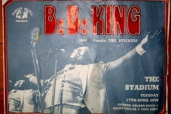 1984 - The Business support blues legend B.B. King