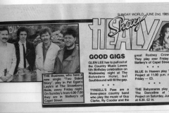 1985 - Shay Healey, Sunday World