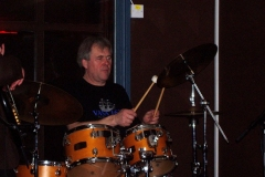 2006 - Dave Gaynor on drums in the Bleu Note